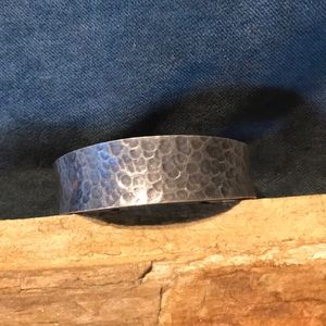 Jewelry - Hammered Sterling Silver Cuff